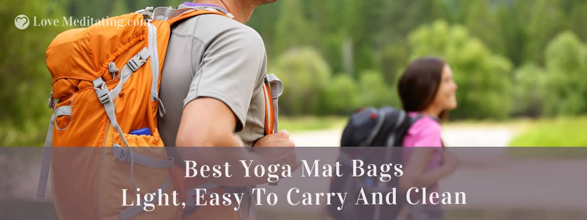 5 Best Yoga Mat Bags in 2018: Light, Easy To Carry And Clean