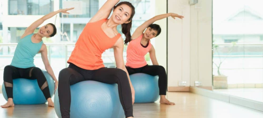 How to Sit on a Yoga Ball for Exercise
